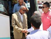 محافظة سوهاج تودع أفواج حجاج الجمعيات الأهلية لأداء مناسك الحج