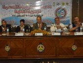"""صور.. محافظ الإسكندرية يكرم ممثلى الدول المشاركة بـ""""دراسة الأنشطة البحرية العربية"""""""