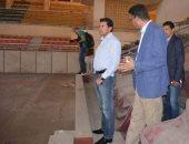 تطوير صالة استاد الإسكندرية على مرحلتين
