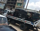ضبط 12 سيارة ودراجة بخارية متروكة فى حملات بالقاهرة