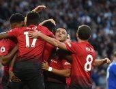 بدأت المتعة الكروية.. مانشستر يونايتد يفوز على ليستر سيتى 2-1 فى إنطلاق الدورى الإنجليزى