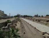 رئيس مدينة الأقصر: مستمرون بالمرحلة الثانية لإزالات طريق الكباش