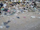 قارئ يشكو من انتشار القمامة بشارع عزبة الخطيب