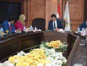 وزير الرياضة : الاهتمام بالنشء والشباب من أولوياتنا وإقامة دورى للمدارس قريبا
