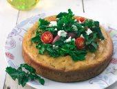 طريقة عمل الكيك المالح بالجبنة والزيتون