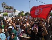 مظاهرات فى تونس احتجاجا على مشروع قانون مساواة الرجل بالمرأة فى الميراث