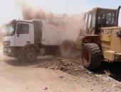 صور.. رفع 180 طن قمامة ومخلفات صلبة فى حملة نظافة بمركز البلينا سوهاج