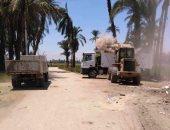محافظ الدقهلية: رفع 545 طن قمامة وإزالة مقابر مخالفة بالمنصورة