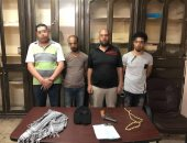 سقوط تشكيل عصابى تخصص فى سرقة السيارات بالإكراه وبحوزتهم أسلحة بمدينة نصر