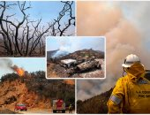 صور.. أكثر من 100 حريق غابات ضخم فى أمريكا بعد اندلاع حرائق جديدة