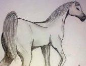 فنانة من قنا تتألق فى الرسم وتشارك اليوم السابع أعمالها