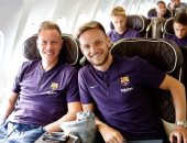برشلونة يطير إلى المغرب لمواجهة إشبيلية فى كأس السوبر الإسبانى