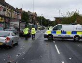 صور.. انتشار مكثف لقوات الشرطة البريطانية فى مانشستر بعد حادث إطلاق النار