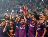 بعد تعثر الريال.. 5 أسباب تقرب برشلونة من الثلاثية التاريخية 2019