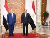 السفير اليمنى بالقاهرة يؤكد نجاح لقاء عبدربه منصور بالرئيس السيسي