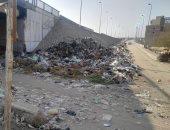 قارئ يشكو انتشار القمامة بمطلع محور صفط اللبن