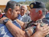 العاهل الأردنى يتوعد المقصرين فى أحداث سيول البحر الميت