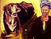 """""""آية"""" تشارك باللوحات فنيه باستخدام الرصاص والفحم واللوان المائية"""