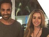 """أحمد فهمى يؤكد ارتباطه بـ هنا الزاهد.. وشقيقه يعلق: """"العائلة"""""""