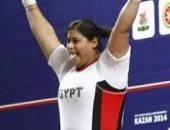 حليمة عبد العظيم تحصد 3 ذهبيات فى بطولة أفريقيا لرفع الأثقال