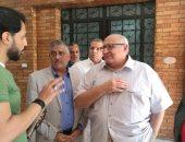 رئيس جامعة عين شمس يتفقد المدينة الجامعية.. ويؤكد حرصه على راحة الطلاب