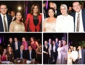 وزراء وإعلاميون وفنانون فى حفل خطوبة خالد مجاهد