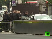 فيديو.. لحظة اعتقال سائق بعد اصطدام سيارته بحاجز أمام البرلمان البريطانى