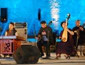 فيديو.. أوركسترا الموسيقى الصينية وويف جاز باند يتألقان فى الليلة الـ12 بمهرجان القلعة