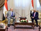صور.. على عبد العال للرئيس اليمنى: سندعم برلمان اليمن