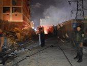 السيطرة على حريق بعقارين وأخر بأرض فضاء دون إصابات بالإسكندرية