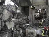 فيديو.. رجال الإنقاذ فى إيطاليا يواصلون البحث عن ناجين من انهيار جسر جنوة
