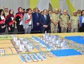 المتحدث باسم الرئاسة ينشر فيديو ملخص زيارة السيسى لمجمع مصانع بنى سويف