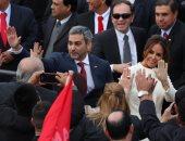 رئيس باراجواى الجديد يؤدى اليمين الدستورية