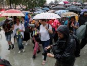 """صور.. مظاهرات فى موسكو للمطالبة بالإفراج عن مراهقتين متهمتين ب""""التطرف"""""""