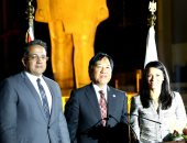 وزيرة السياحة: المتحف المصرى الكبير صرح ثقافى شاركت اليابان فى تشييده
