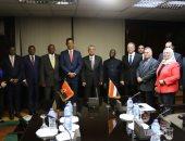 وزير الكهرباء يستقبل وزير الطاقة والمياه الأنجولى لبحث سبل التعاون بين البلدين