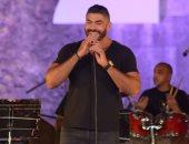 """صور.. خالد سليم يبدأ حفله بمهرجان القلعة بأغنية """"حلم عمرى"""""""