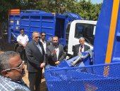 الجيزة تتسلم 20 سيارة نظافة جديدة لتحسين خدمة الجمع من المنازل