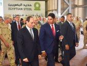 أبو هشيمة: زيارة الرئيس مصنع حديد بنى سويف تكريم لجهود العاملين