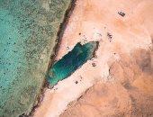 س وج.. كل ما تريد معرفته عن بحيرة النيزك بمرسى علم؟