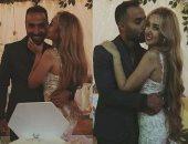 أحمد فهمى مغازلا خطيبته هنا الزاهد: هفضل أحبك دائما