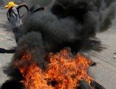 صور.. تجدد أعمال العنف فى هندوراس احتجاجا على زيادة أسعار المواصلات