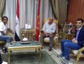 محافظ بورسعيد يستقبل رئيس الهيئة العامة لقصور الثقافة