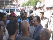 مدير أمن المنوفية يتفقد الخدمات الأمنية بكمين ميت أبو شيخة