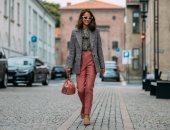 الحقائب الغريبة تسيطر على موضة الـstreet style بأسبوع الموضة فى أوسلو