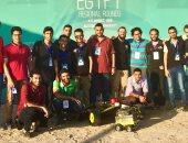 باى باى لغم.. طلاب بجامعة الإسكندرية يبتكرون روبوت لتفجير الألغام عن بعد
