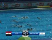 منتخب الشباب لكرة الماء يسحق الأرجنتين 22 - 6 فى بطولة العالم بالمجر