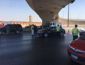 صور.. المرور: سيارات إغاثة ودفع رباعى على الطرق لتأمين الرحلات