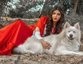 بالهاسكى على طريقة الأميرات.. أيسل خالد أجمل وجه طبيعى يطل فى أحدث فوتوسيشن