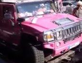 اعرف تفاصيل احتجاز عارضة الأزياء اللبنانية ميريام كلينك بسبب سيارتها..فيديو